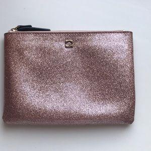 Kate Spade Cosmetic Bag in Rose Gold